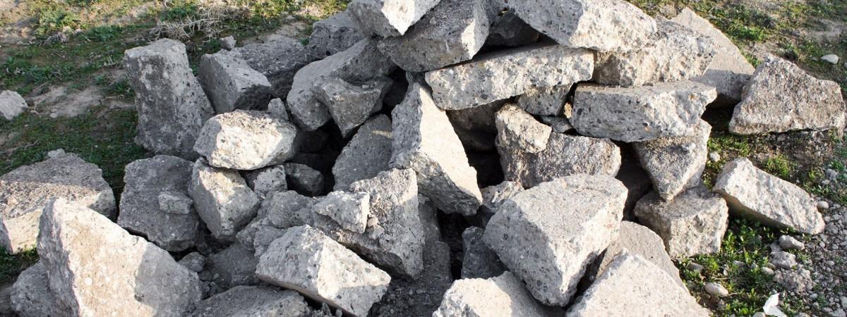 Вывоз боя бетона пропорции в цементном растворе